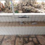 コンクリート爆裂とタイルの補修リフォーム