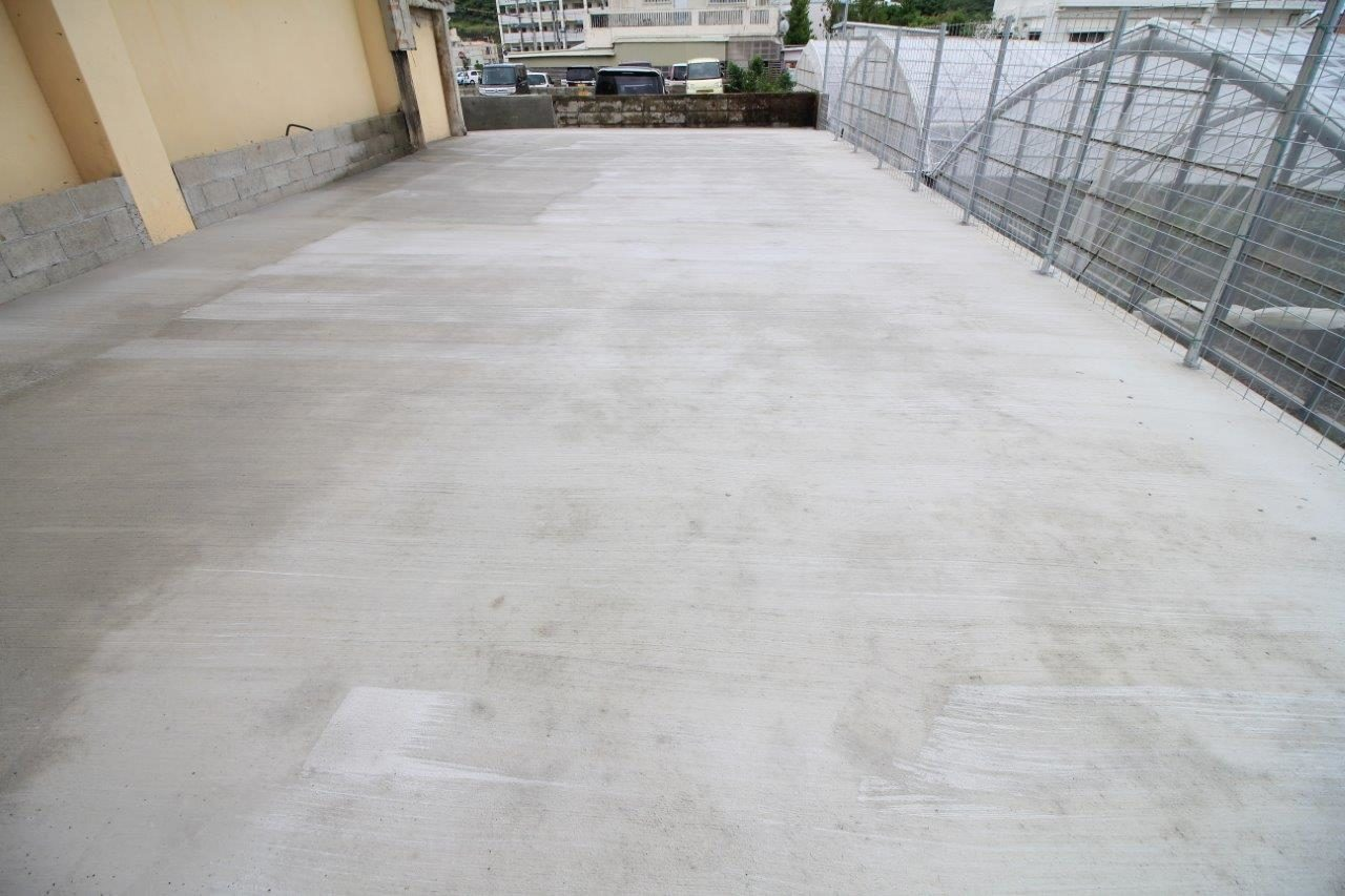 コンクリート打設 フェンス 沖縄 リフォーム