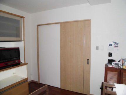After 仕切り壁とドアの設置リフォーム