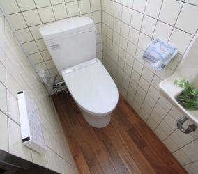 床と便器の取替えリフォーム