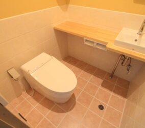 After シャワー室をトイレにリフォーム