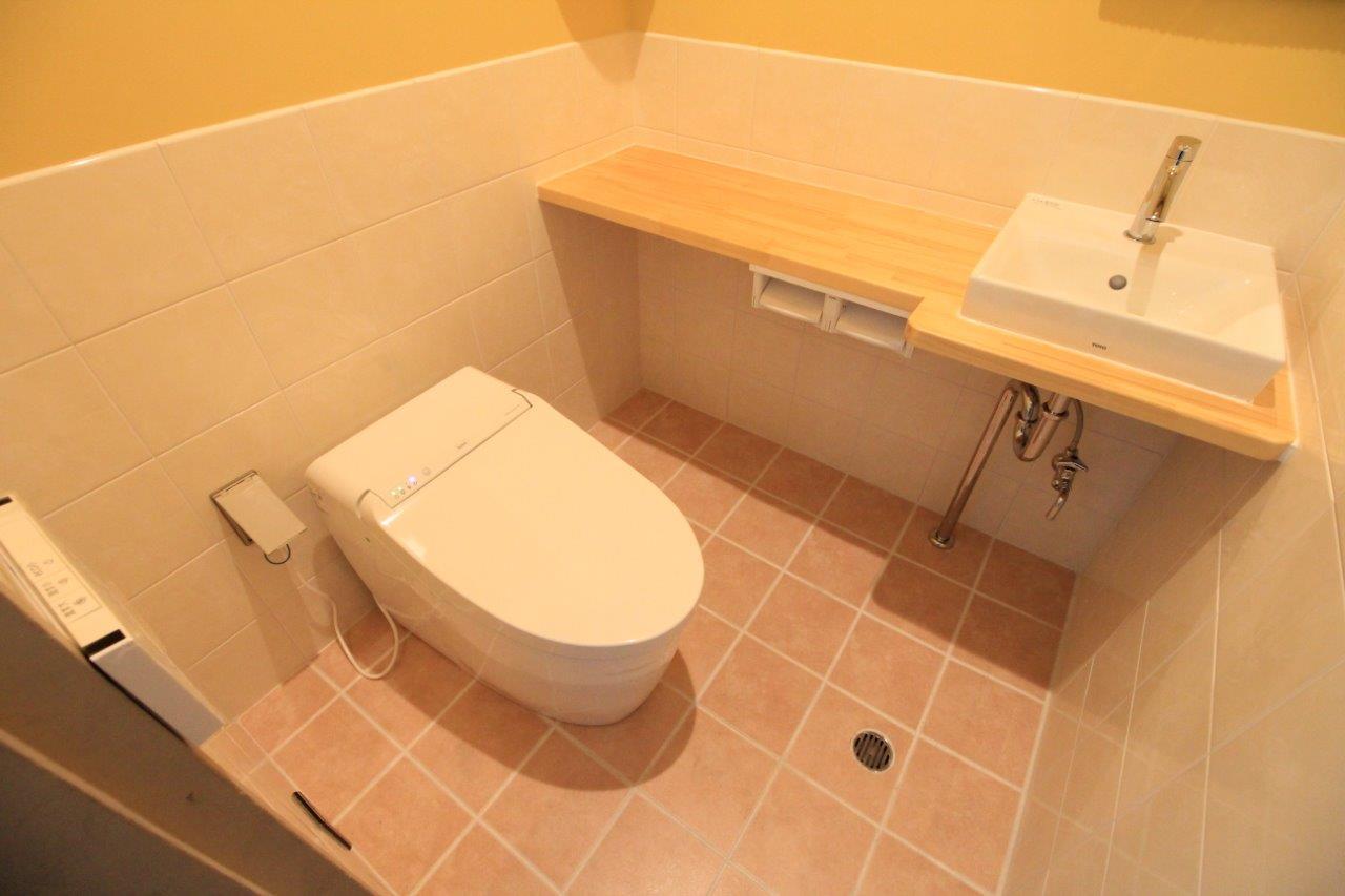 トイレ 便器 カウンター 手洗器 沖縄 リフォーム