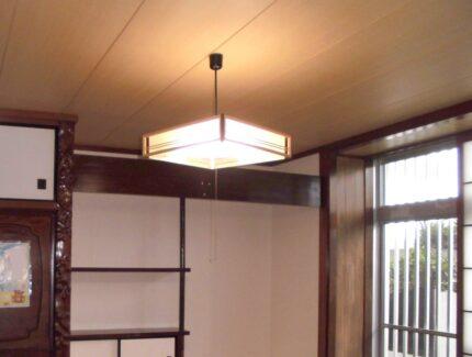 After 和室天井のリフォーム