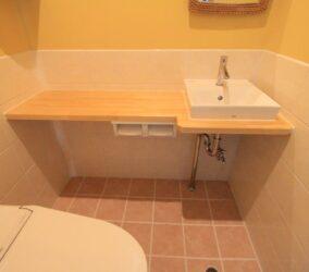 トイレとシャワー室のリフォーム