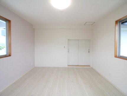 After ベランダに部屋を増築