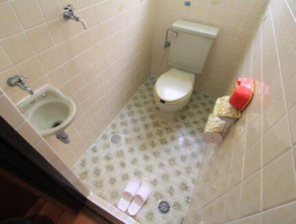 Before トイレ 床と便器のリフォーム