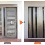 玄関ドア取替えリフォーム