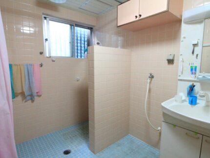 Before 浴室と脱衣所の仕切り壁