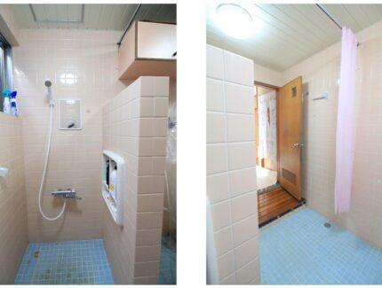 Before 浴室の仕切り壁