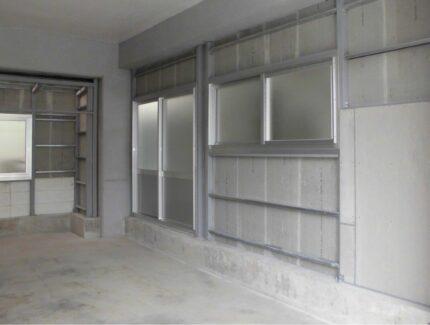 After 駐車場の外壁リフォーム