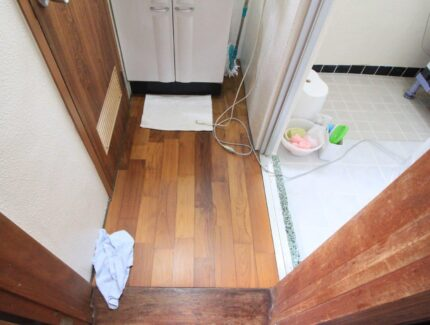 Before 浴室と脱衣所のリフォーム