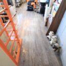 店舗 床の張替えリフォーム