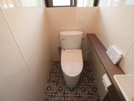 After トイレのリフォーム
