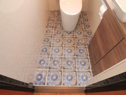 After トイレ 床のリフォーム